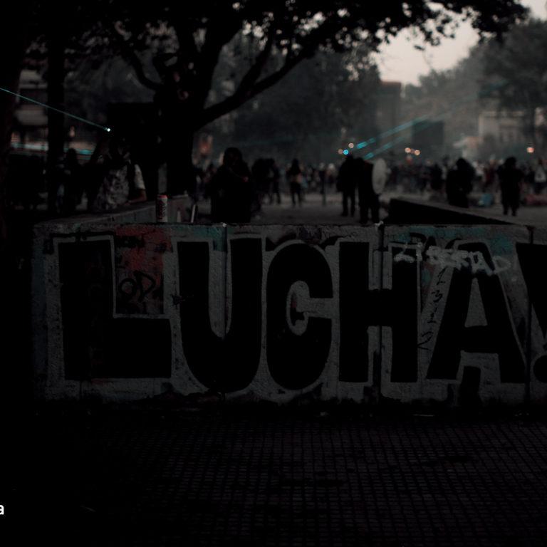Revueltas en Chile. Foto: José Miguel Araya