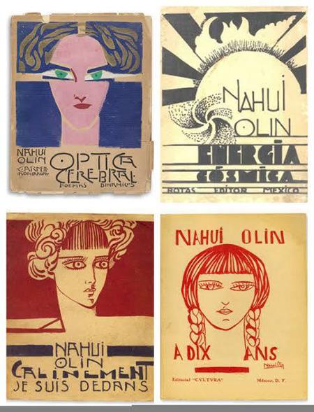 Libros de Nahui Olin