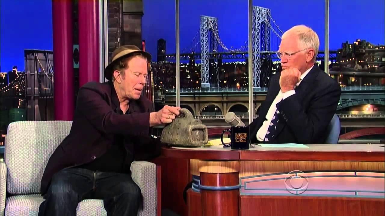 Tom Waits en Letterman