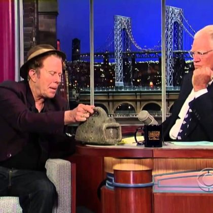 Tom Waits en Letterman