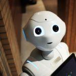 Robot feliz