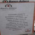 Banco Azteca durante Covid-19