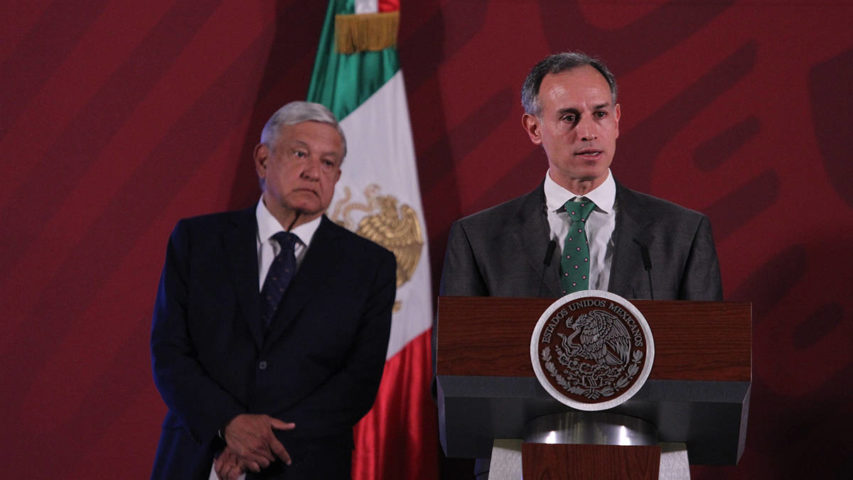 AMLO y Hugo López-Gatell