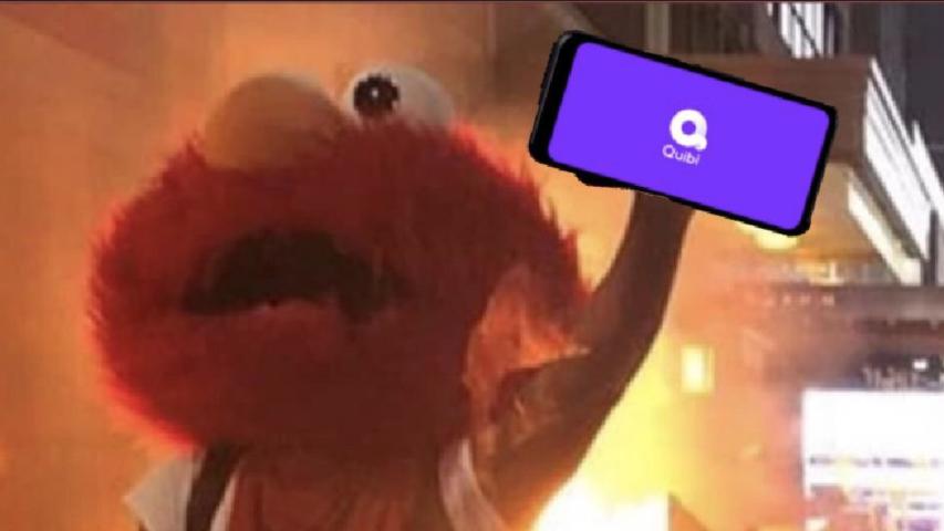 Quibi y Elmo